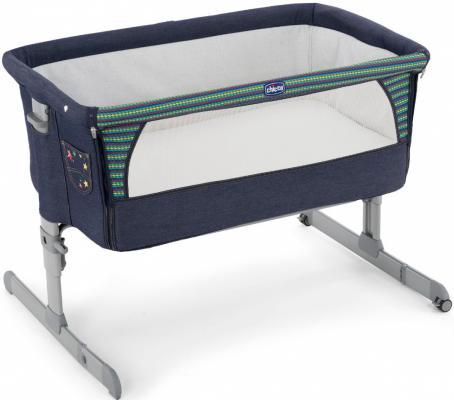 Кроватка Chicco Next2me (denim)