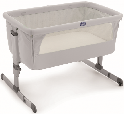 Кроватка Chicco Next2me (silver)