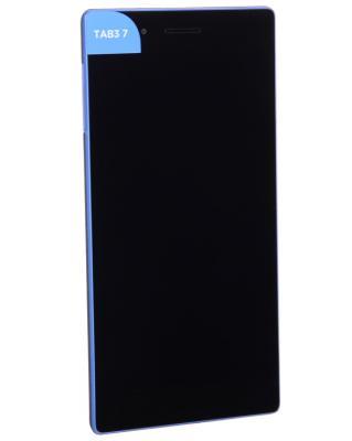 Планшет Lenovo TAB 3 730X 7 16Gb черный Wi-Fi 3G Bluetooth LTE Android ZA130040RU планшеты lenovo планшет lenovo yoga tablet 3 pro yt3 x90l 2gb 32gb 3g 4g android 5 1 черный