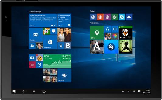 """Планшет Irbis TW42 10.1"""" 32Gb черный Wi-Fi Windows TW42"""