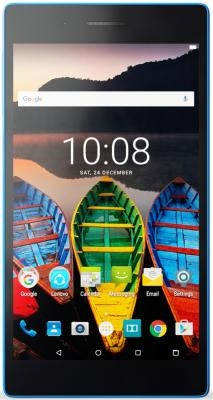 Планшет Lenovo Tab 3 TB3-730X 7 16Gb белый голубой Wi-Fi 3G Bluetooth 4G Android ZA130004RU for lenovo tab 3 tab3 7 0 tb3 730f 730f 730m 730x case pc tpu shockproof heavy duty rubber hybrid tablet protective cover