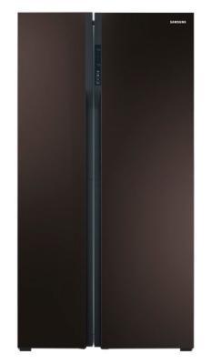 Холодильник Samsung RS552NRUA9M черный samsung rs 21 hntrs