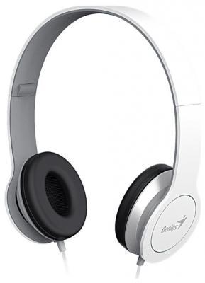 Наушники Genius HS-M430 белый аудио наушники genius наушники headset hs 04su