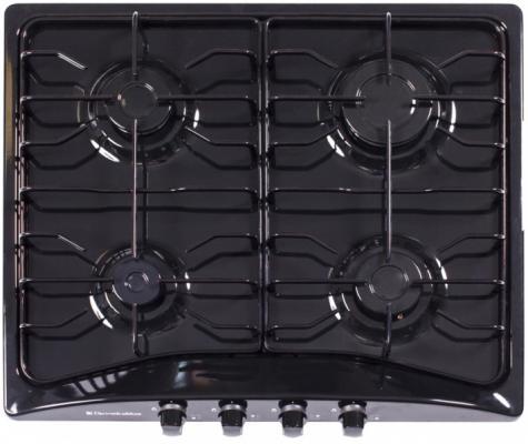 Варочная панель газовая Electronicsdeluxe 5840.00ГМВ-003 черный