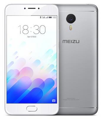 """Смартфон Meizu M3 Note серебристый белый 5.5"""" 32 Гб LTE Wi-Fi GPS"""