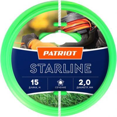 Леска Patriot Starline D2.0 мм L15 м 805201056 леска balsax tarantula 100 м 0 55 мм 29 7 кг