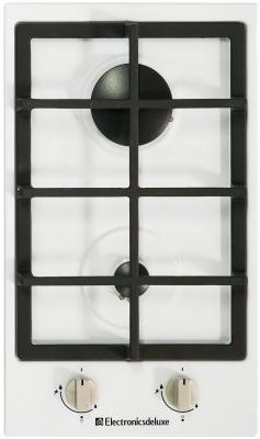 Варочная панель газовая Electronicsdeluxe TG2 400215F-003 белый