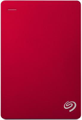 "Внешний жесткий диск 2.5"" USB 3.0 4Tb  Seagate  Backup Plus Portable красный STDR4000902"