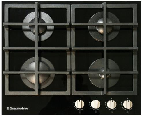 Варочная панель газовая Electronicsdeluxe GG4 750229F-012 черный газовая варочная панель electronicsdeluxe gg4 750229f 012 черный