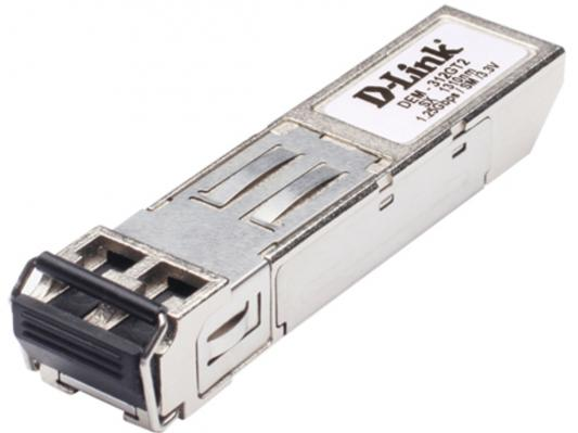Трансивер сетевой D-Link DEM-312GT2/E1A  1-port mini-GBIC LX Mutli-mode Fiber Transceiver