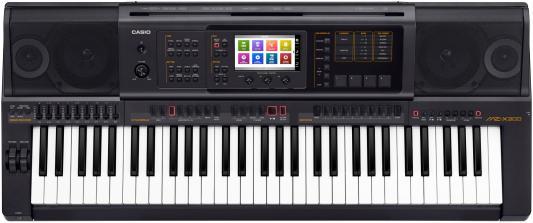 Синтезатор Casio MZ-X300 61 клавиша USB черный синтезатор casio wk 7600 76 невзвешенная полноразмерные 64 черный