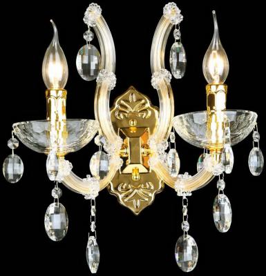 Бра Crystal Lux Hollywood AP2 Gold бра crystal lux hollywood gold hollywood ap2 gold
