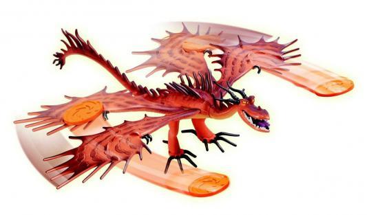 Фигурка Dragons Функциональный дракон Hookfang 20071352