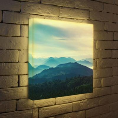 Лайтбокс Горный пейзаж 45x45-013 цена