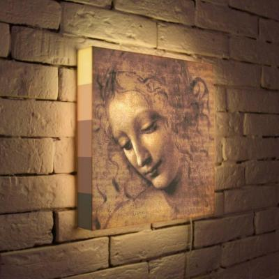 Лайтбокс Леонардо да Винчи Эскиз 35x35-039