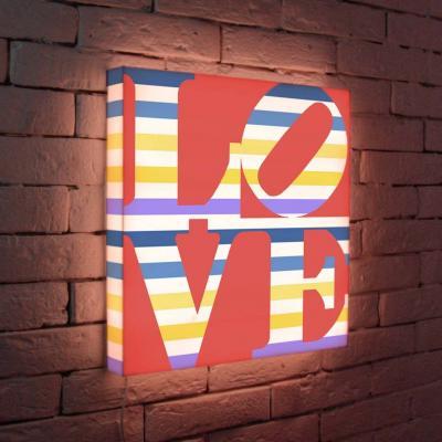 Лайтбокс LOVE 2 45x45-125 лайтбокс love 1 45x45 041