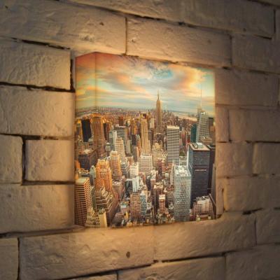 Лайтбокс NYC 25x25-105
