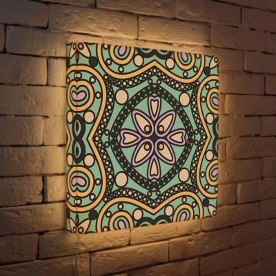 Лайтбокс Орнамент 1 45x45-052