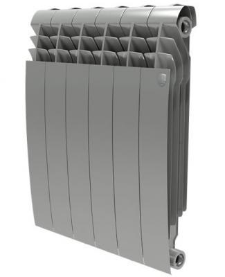 Радиатор Royal Thermo BiLiner 500 Silver Satin 10 секций радиатор royal thermo biliner 500 silver satin 4 секции
