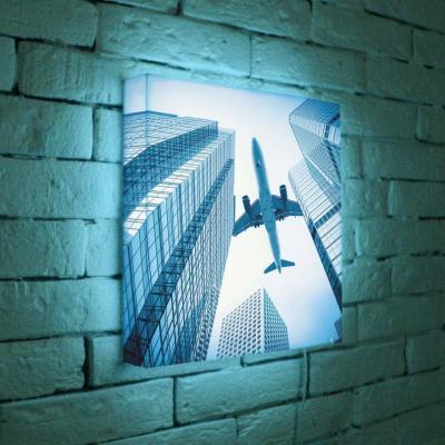 Лайтбокс Самолет 35x35-025 лайтбокс самолет 45x45 025