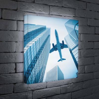 Лайтбокс Самолет 45x45-025 45x45 025
