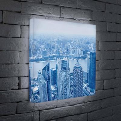 Лайтбокс Шанхай 45x45-036 лайтбокс вечерний шанхай 45x45 026