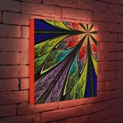 Лайтбокс Цветок 1 45x45-014