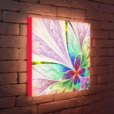 Лайтбокс Цветок 2 45x45-015
