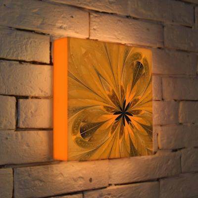 Лайтбокс Цветок 3 25x25-050