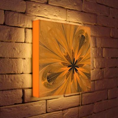 Лайтбокс Цветок 3 35x35-050