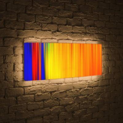 Лайтбокс панорамный Абстракция 2 35x105-p026
