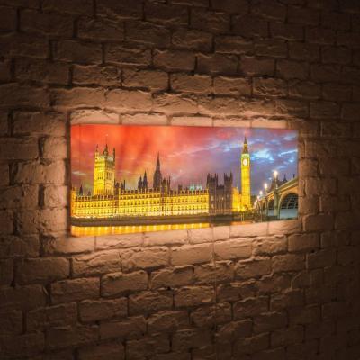 Лайтбокс панорамный Лондон 45x135-p003 fotoniobox лайтбокс панорамный лондон 45x135 p003