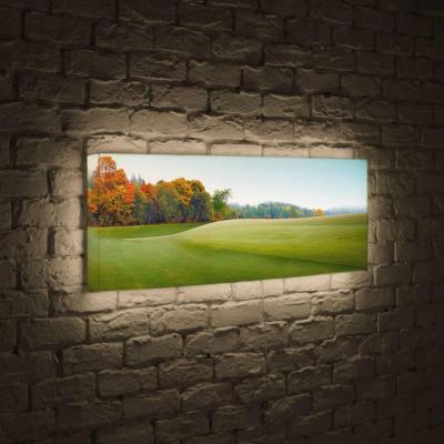 Лайтбокс панорамный Осенняя опушка 35x105-p024