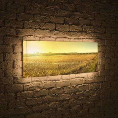 Лайтбокс панорамный Прованс 35x105-p017 boxpop лайтбокс для гостиной или спальни прованс boxpop 35x105 p017