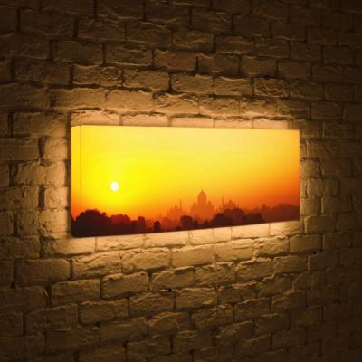 Лайтбокс панорамный Рассвет 60x180-p021