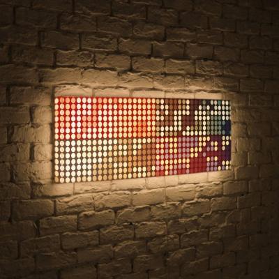 Лайтбокс панорамный Сигналы 45x135-p025