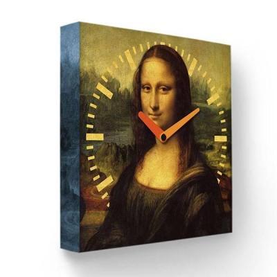 Часы настенные FotonioBox Мона Лиза PB-017-35 коричневый все цены