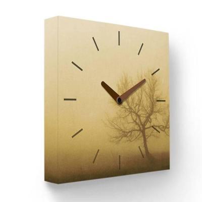 Часы настенные FotonioBox Осенний туман PB-001-35 коричневый