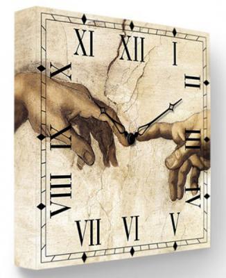 Часы настенные FotonioBox Сотворение Адама PB-027-35 бежевый