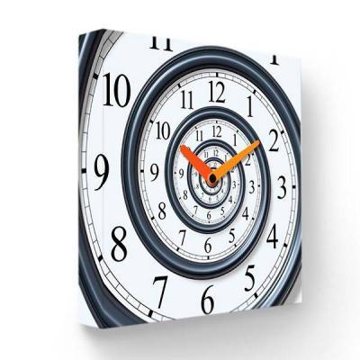 Настенные часы Спираль времени PB-033-35