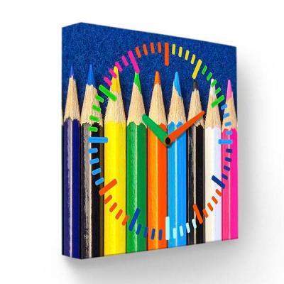 Настенные часы Цветные карандаши PB-005-35 цена и фото
