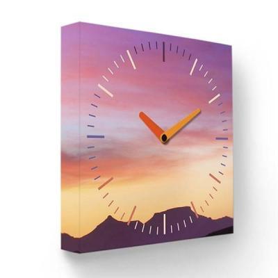 Часы настенные FotonioBox Закат PB-004-35 розовый настенные часы zero branko zs 004