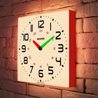 Световые часы BoxPop III LB-503-35 boxpop boxpop 35x105 p023