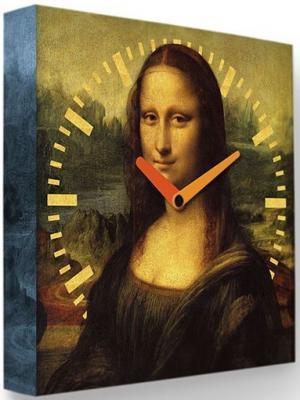 Часы FotonioBox Мона Лиза LB-017-35 коричневый все цены