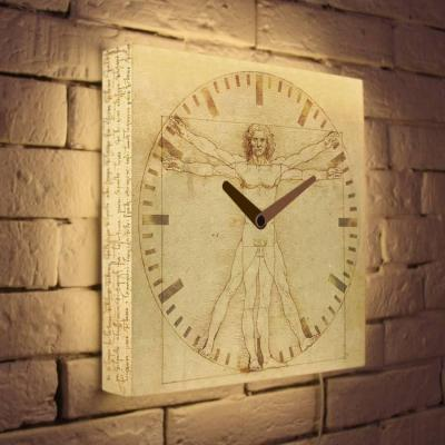 Световые часы Витрувианский человек LB-016-35