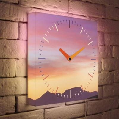 Часы настенные FotonioBox LB-004-35 розовый
