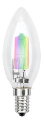 Лампа галогенная свеча Uniel 01089 E14 42W HCL-42/RB/E14 candle