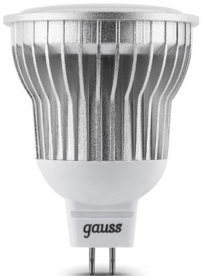 Лампа светодиодная рефлекторная Gauss MR16 GU5.3 8W 4100K EB101105208-D