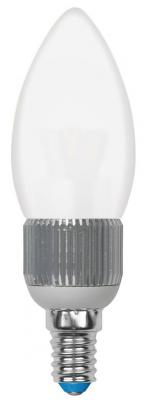 Лампа светодиодная свеча Uniel Cryslal Dimmable E14 5W 4500K LED-C37P-5W/NW/E14/FR/DIM
