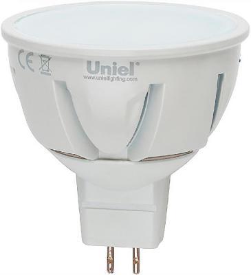 Лампа светодиодная рефлекторная Uniel 08702 GU5.3 7W 4500K LED-JCDR-7W/NW/GU5.3/FR/DIM